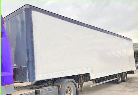 Stepframe Box Trailers for Sale